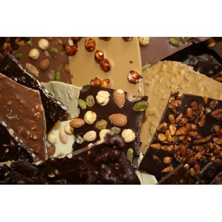 Eclats de chocolat aux fruits secs