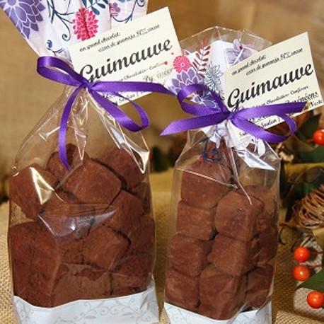 "Guimauve au chocolat ""Coeur  de Guanaja"""