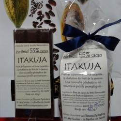 Chocolat noir 55% cacao Itakuja