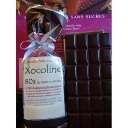 Chocolat noir 80 % cacao Xocoline
