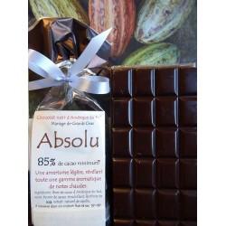 chocolat Noir Absolu 85% cacao