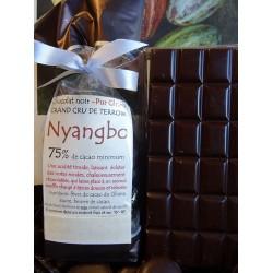 Chocolat Noir Nyangbo 75% cacao