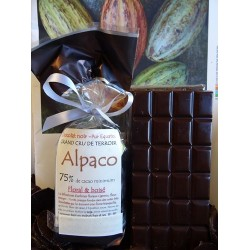 Chocolat Noir Alpaco 75% cacao