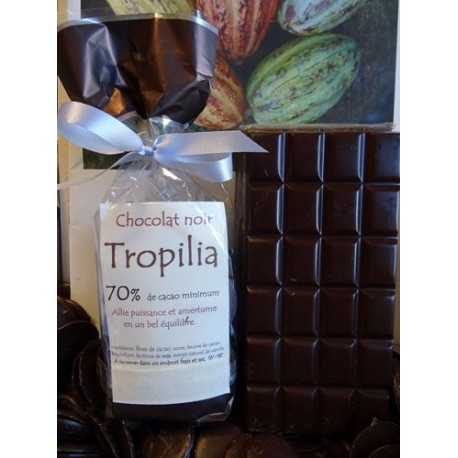Chocolat Noir  70% cacao TROPILIA