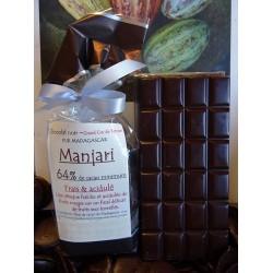 Chocolat Noir  Manjari 64% cacao