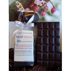 Chocolat noir  56% cacao ORANGE