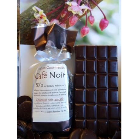 Chocolat Noir Café 57% cacao