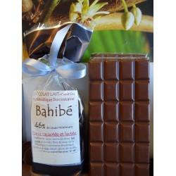 Chocolat Lait  46%cacao BAHIBE