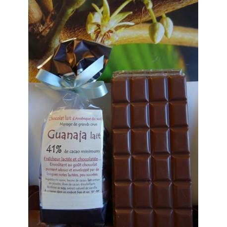 Chocolat Lait 41% cacao  GUANAJA