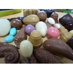 Friture praliné et nature de Pâques