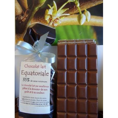 Chocolat  Lait 35% cacao EQUATORIALE