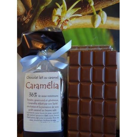 Chocolat Lait  36% cacao CARAMELIA