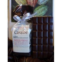 Chocolat Noir Caraïbe 66% cacao