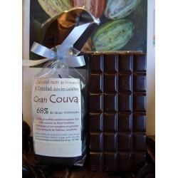 Chocolat Noir GRAN COUVA 68% cacao