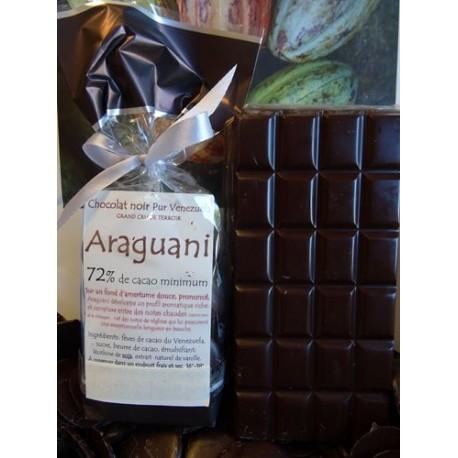 Chocolat Noir Araguani 72% cacao