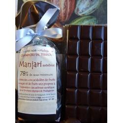 Chocolat Noir Manjari Extrême 78% cacao