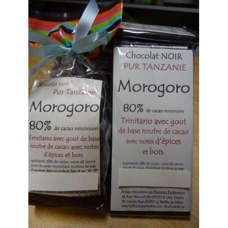 Chocolat Noir  80% cacao Morogoro