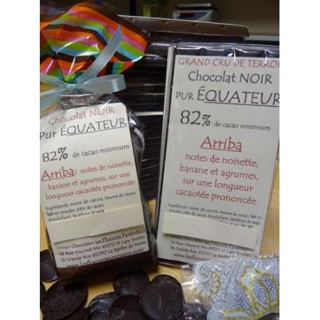 Chocolat noir 82% cacao Arriba