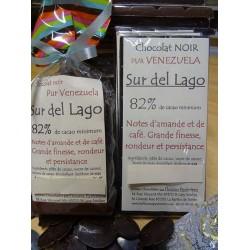 Chocolat Noir 82% cacao Sur del Lago