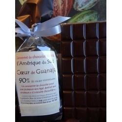 Chocolat Noir Coeur de Guanaja 90% cacao